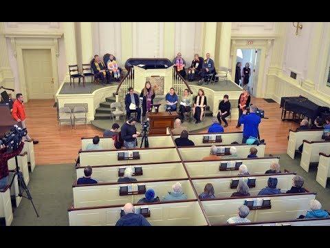 Unitarian church in Northampton welcomes Russian immigrant facing deportation
