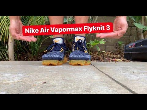 nike air vapormax flyknit navy