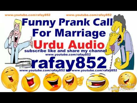 Funny Bangalore Urdu Prank Call For Marriage