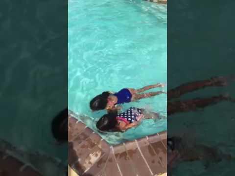 Summer 2016 hotel swimming in Houston