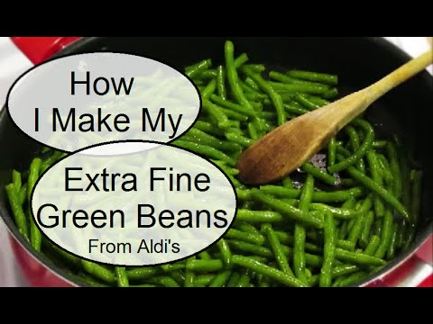 how to cook fine green beans
