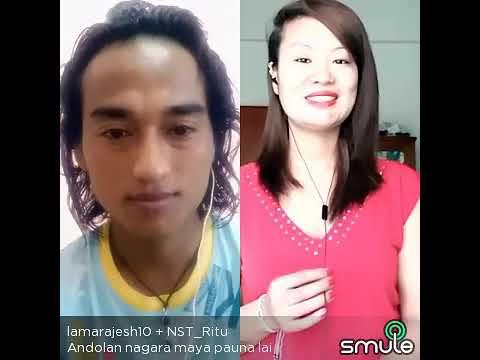 Andolan nagra mero mayama cover song :-  Lamarajesh10 by Nst_Ritu