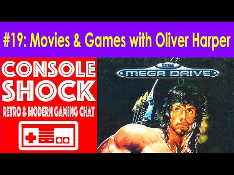 Console Shock 19: Movies & Video Games with Oliver Harper!