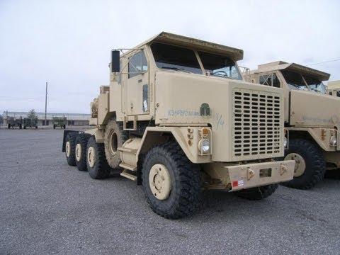 2005 Oshkosh Heavy Equipment Transporter Tractor On GovLiquidation.com