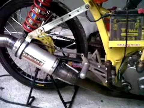 Suzuki smash drag 150 CC 'ART' ROHUL