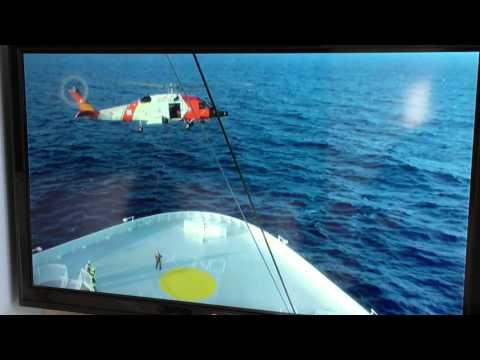 Coast Guard MedEvac from Norwegian Escape