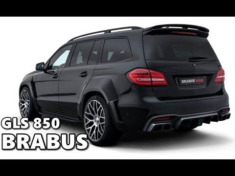 Brabus Mercedes Amg Gls 63 850 Youtube