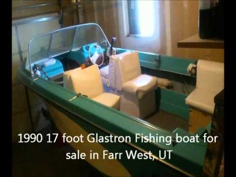 1990 17 Foot Glastron Fishing Boat For Sale In Farr West UT Best Offer
