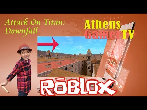 Roblox Attack On Titan Downfall AthensGamerTV by Athens Thanakrit