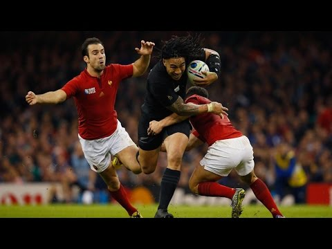 New Zealand v France - Match Highlights and Tries - RWC 2015