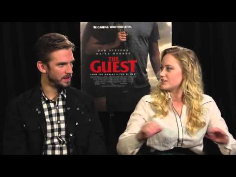 The Guest - Dan Stevens and Maika Monroe Interview - YouTube
