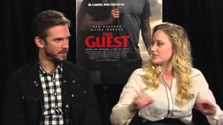 the guest   dan stevens and maika monroe interview