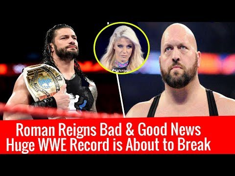 Roman Reigns Good & Bad News Huge WWE Record is going to Break | Big Show Huge Statement