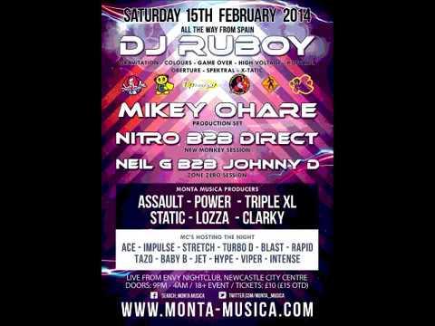 DJ'S STATIC & LOZZA MC'S-ACE & IMPULSE,LETRIX (Dance Control Round 2)