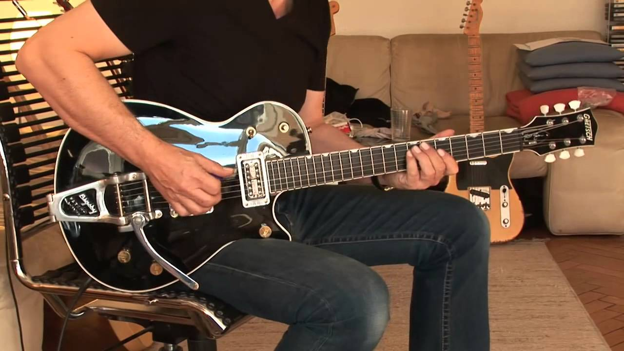 "Cadillac Of Easton >> 2001 Gretsch Duo Jet ""Elliot Easton Signature"" Part1 - YouTube"