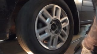 видео Замена ступицы - замена подшипника ступицы Ford (Форд)