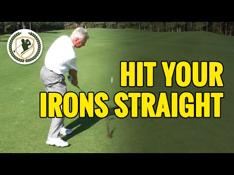 How To Hit Golf Ball Straight With An Iron