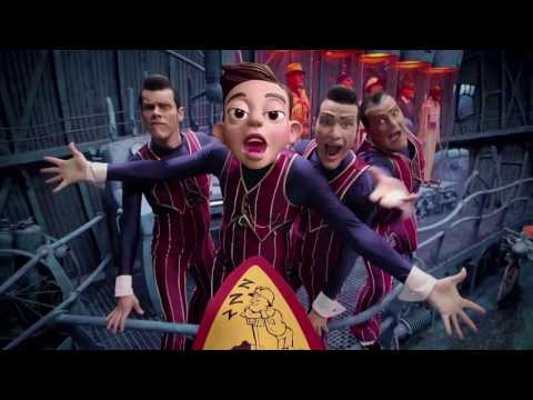 We Are Number One but it's mashed up with The Mine Song