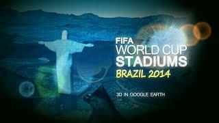 Video FIFA World Cup Stadiums Brazil 2014 in 3D download MP3, 3GP, MP4, WEBM, AVI, FLV Desember 2017