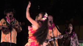 Waikiki Hula show in Kuhio Beach ( kapili )  Mele  KHBC