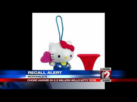 McDonald's recalls Happy Meal toy for choking risk
