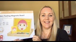 eSafeKids Resource: Kmart Wooden Magnetic Feelings Board