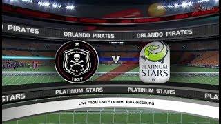 Absa Premiership 2017/2018 - Orlando Pirates vs Platinum Stars