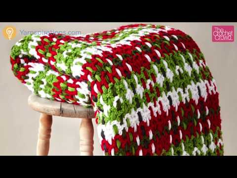 How to Crochet an Afghan: Plaid Woven Afghan