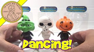 Solar Dancing Halloween Figures 2011 - Witch, Skeleton, Pumpkin