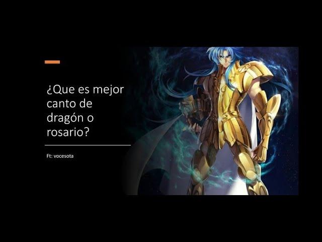 Cosmos Cual Es Mejor Para Kanon Canto De Dragon O Rosario Saint Seiya Aweikening Youtube