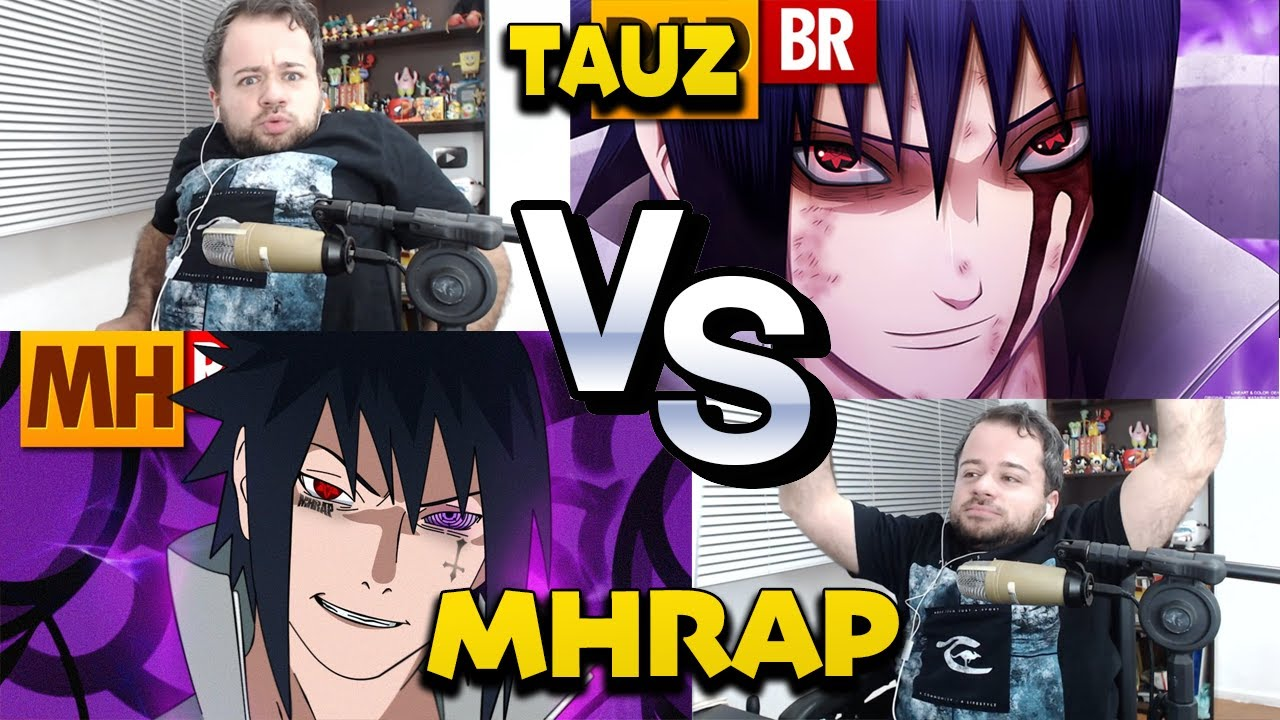 REACT Rap do Sasuke | TAUZ vs MHRAP