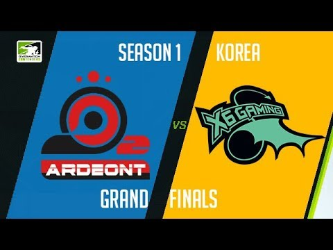 O2 Ardeont vs X6-Gaming (Part 1) | OWC 2018 Season 1: Korea [Grand Final]