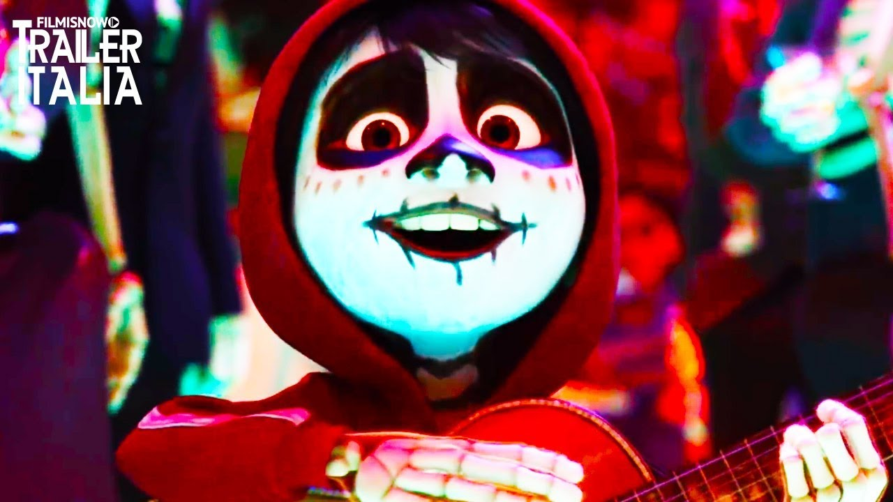Disney pixar coco tutte le clip e trailer compilation in
