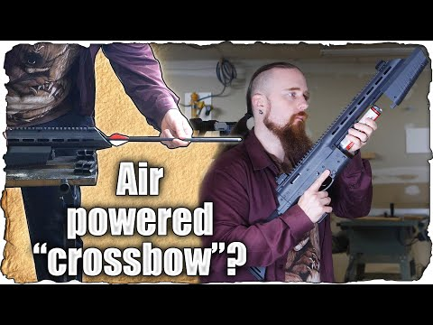 A CO2 Arrow Launcher - Umarex AirJavelin Test And Review