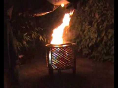 The Quot Ollr Quot Fire Pit Of Doom Fire Basket Made Out