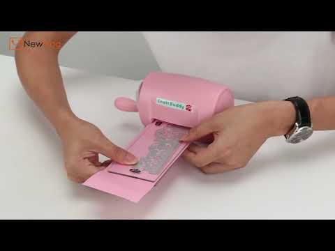 NewFrog | DIY Plastic Paper Cutting Embossing Machine Craft Scrapbook Album Cutter