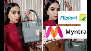 Myntra/flipkart/ Handbags haul India || Lino Perros Handbag || Online shopping review|