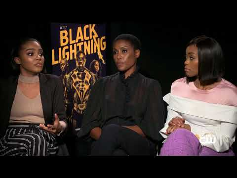 Interview with Nafessa Williams China, Anne McClain & Christine AdamsPt1