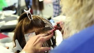 Мелирование на короткие волосы через фольгу
