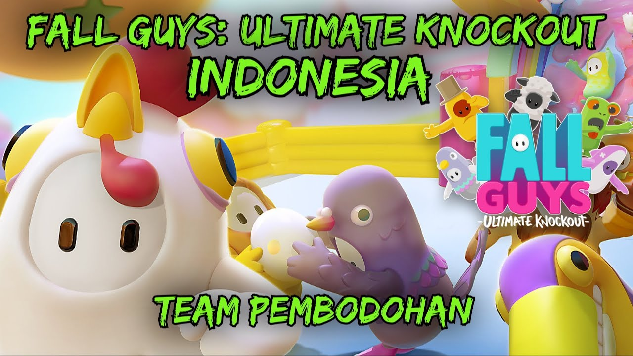 Fall Guys: Ultimate Knockout Indonesia - Team Pembodohan