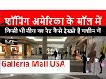 Galleria Mall(USA) Visit in Hindi  When an Indian does shopping in Mall of USA  Indian Vlogger