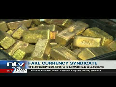 3 foreigners arrested in Ruiru with fake currency and fake gold