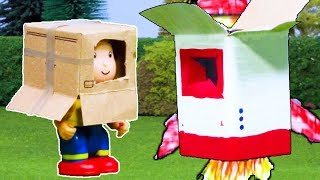★NEW★ Caillou Builds a Rocket 🚀 Funny Animated Kids show | WATCH ONLINE | Caillou Stop Motion