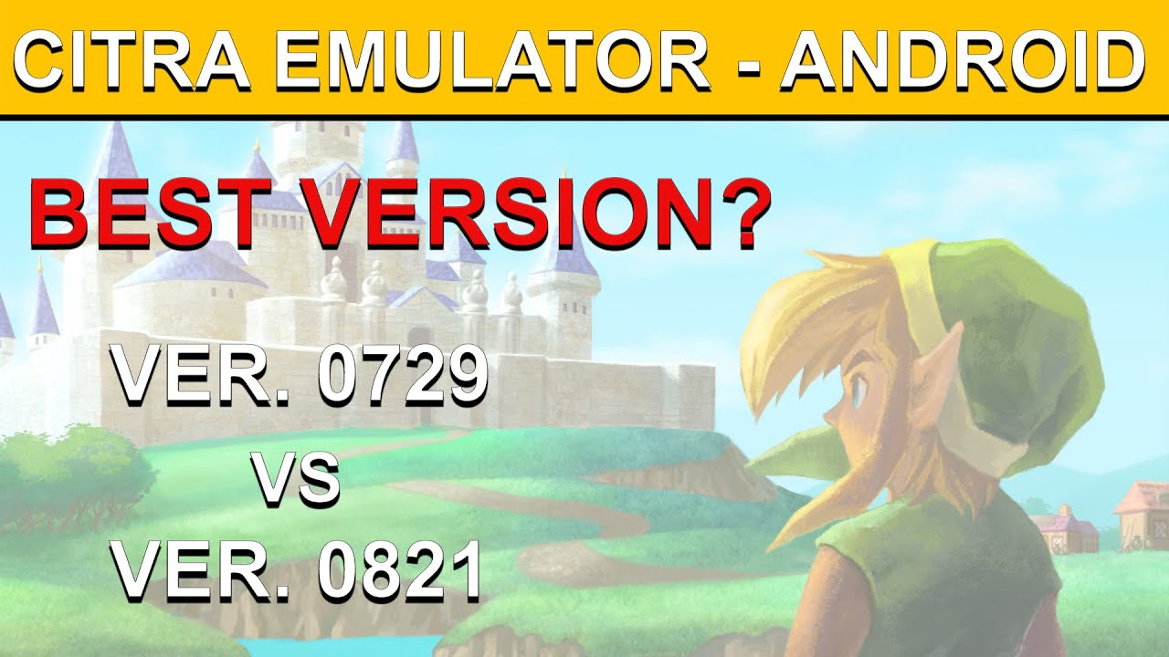 New Playable Citra Emulator for Android