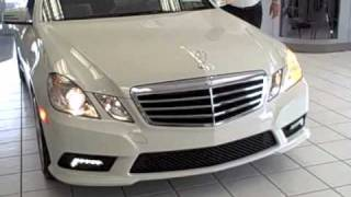 2011 mercedes benz e350 video