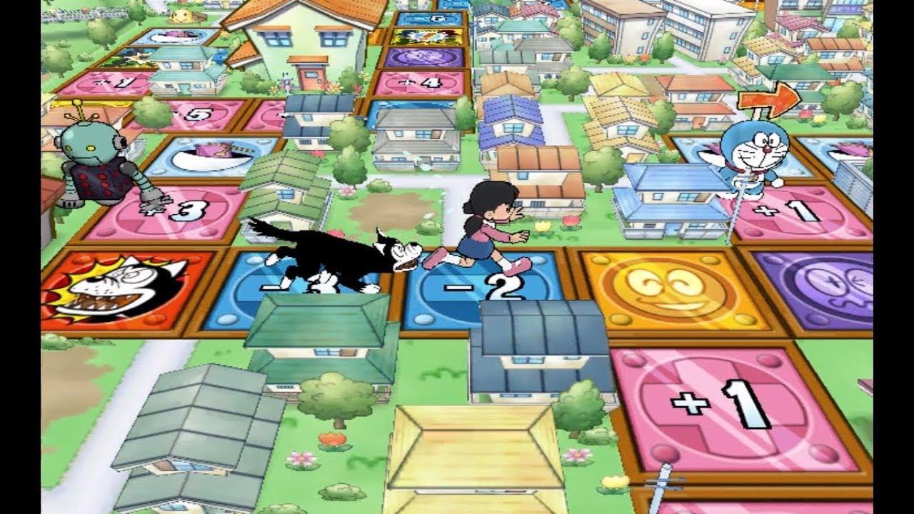 ドラえもん🆕Doraemon Wii Game #10🌈Chó đuổi shizuka-chan🐶कुत्ते ...