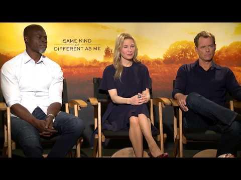 SAME KIND OF DIFFERENT AS ME: Renee Zellweger, Greg Kinnear & Djimon Hounsou