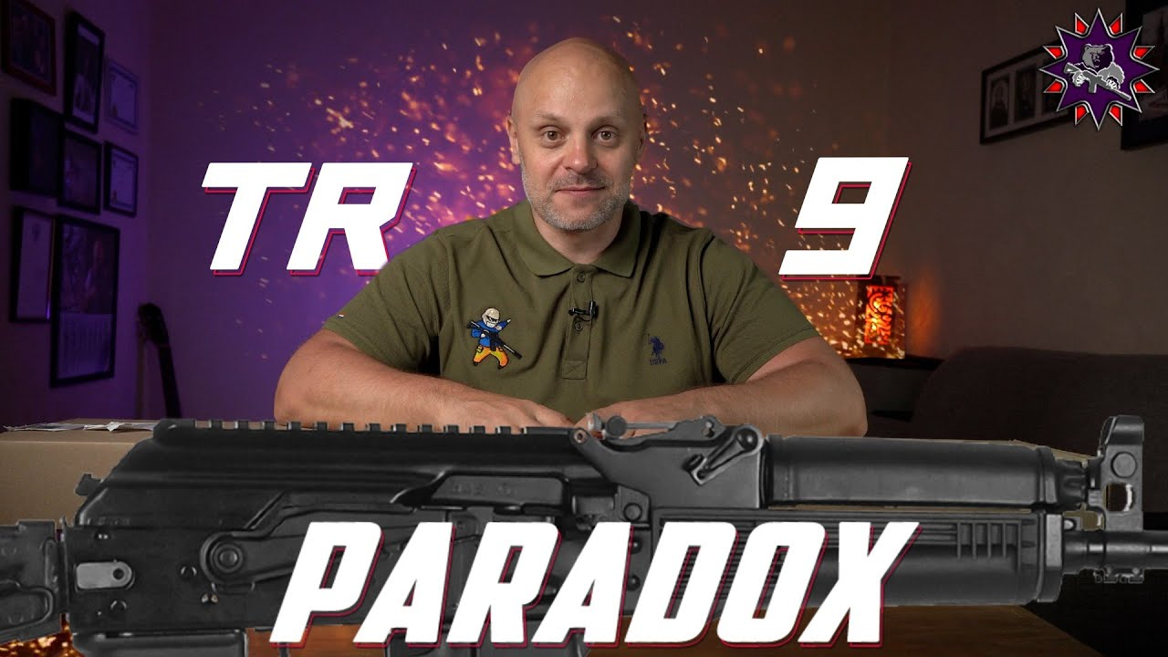 Парадокс - или почти 9х19 для всех! Первый обзор карабина TR 9 в калибре 345TK