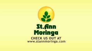 St Ann Moringa tea animation
