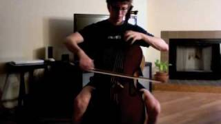 POPPER PROJECT #10: Joshua Roman plays Etude no. 10 for cello by David Popper